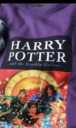 🚚 Harry Potter purple oversized t-shirt