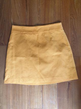 🚚 Orange skirt
