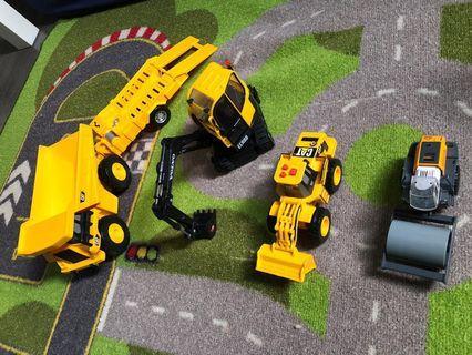 🚚 Construction vehicles complete set