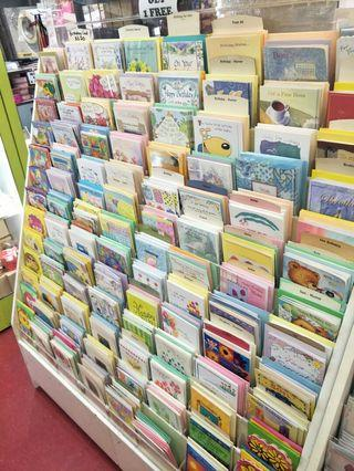 🚚 Greeting Cards With 2 Card Rack For Sale