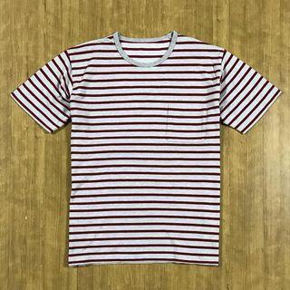 UNIQLO Stripe Pocket Tshirt Size L