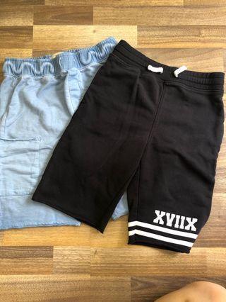 Zara and H&M Boys Shorts