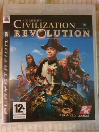 🚚 Civilisation Revolution PS3