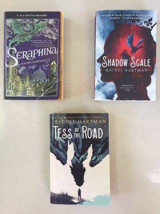 Seraphina, Shadow Scale, Tess of the Road by Rachel Hartman