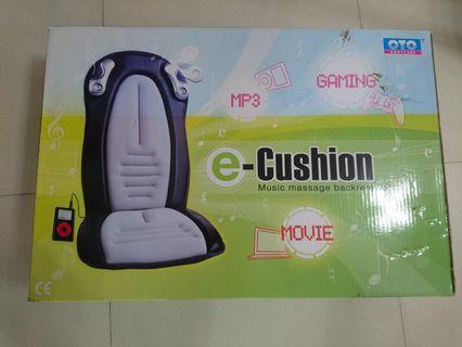 OTO e-Cushion Music massage backrest