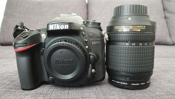 Nikon D7200 with 18-140mm f/3.5-5.6G ED VR Lens
