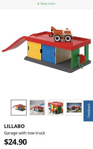 🚚 IKEA toy garage and tow truck
