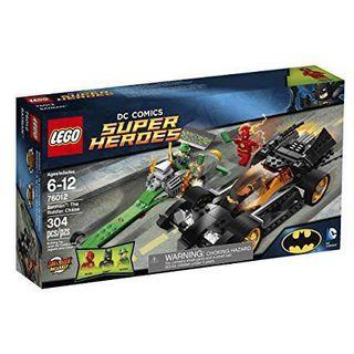 Lego 76012 76053 Batman The Riddler Chase Gotham City Cycle Chase