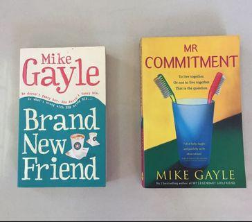 Mr. Commitment and Brand New Friend by Mike Gayle