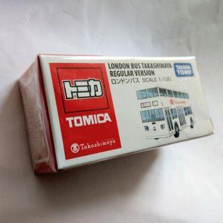Tomica高島屋 25周年 London Bus 星加坡版