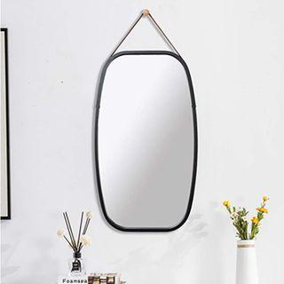 Hanging Rectangle Wall-Mounted Vanity Mirror (43cm X 74cm)