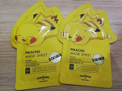 Tony Moly Pikachu Face Mask