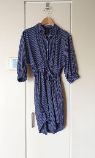 ZARA WOMAN SHIRT DRESS   SIZE XS
