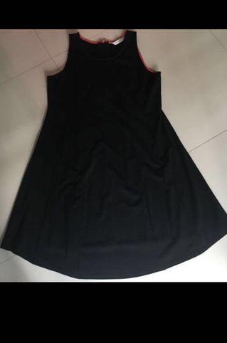 🚚 SPRING Maternity Black Dress (XL)