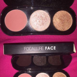 focalure face blush on & highlighter