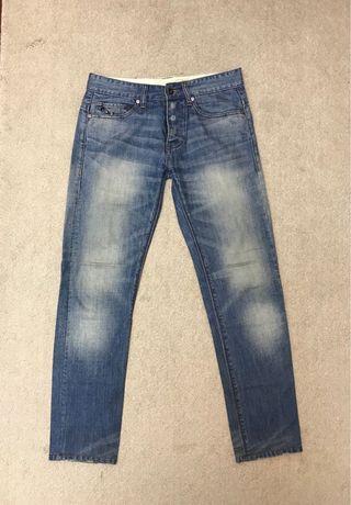🚚 Armani Exchange 珠釦牛仔褲
