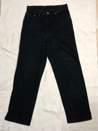 義大利品牌 VERSACE 二手直筒牛仔褲