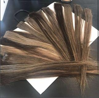 Real tape in hair extensions 16-18 inch there are 17 pairs