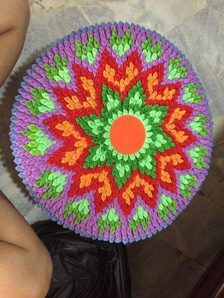 Handmade Crochet / Floor Mat