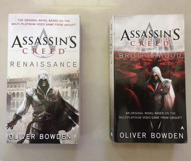 Assassin's Creed Renaissance and Brotherhood by Oliver Bowden