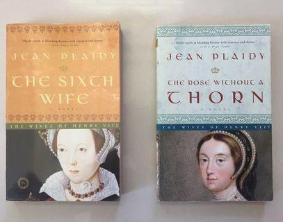 The Sixth Wife and The Rose without a Thorn by Jean Plaidy