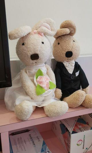Wedding Teddy bear set