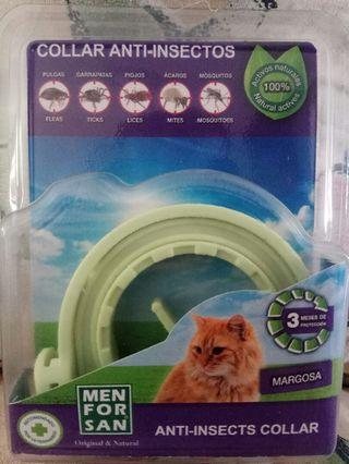 MENFORSAN ANTI- INSECTS FLEA & TICK COLLAR FOR CATS (30cm)