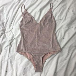 Sparkly Pink Bodysuit