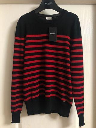 (原價$7850)全新男裝saint laurent Paris knit men Sz m new Slp Ysl