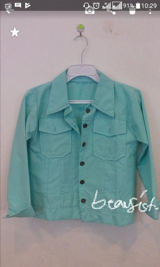 Tosca jaket model jeans (bukan bahan denim)