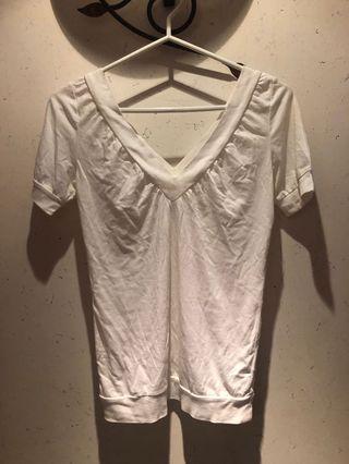 🆕giordano white top