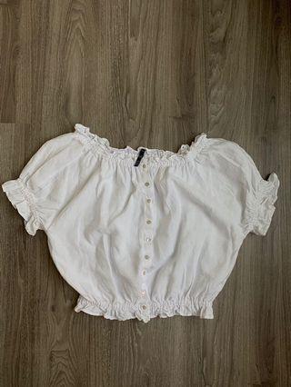 🚚 Zara off shoulder top