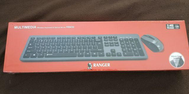 Ranger wireless keyboard and mouse brand new sealed