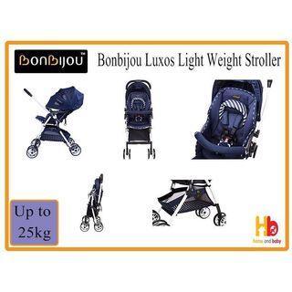 Bonbijou Luxos light weight stroller (Denim Grey)