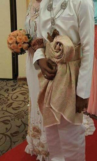 Baju wedding untuk disewa