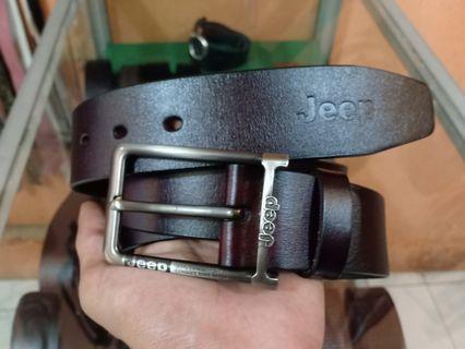 Belt Jeep genuine Leather
