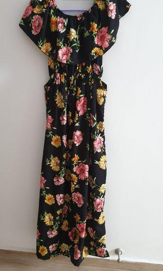 Floral design Jumpsuit