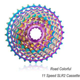 ZTTO Ultralight CNC Oil Slick  Road Bike Cassette