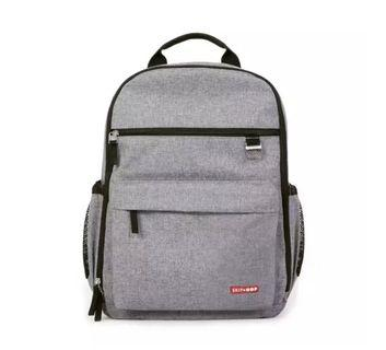BN Skip Hop Duo Diaper Backpack Heather Grey avail!