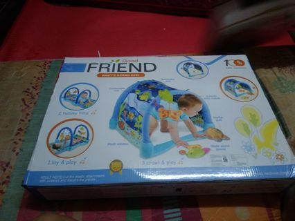 (Nego bisa) Good Friend Crawl and Play, Mainan Bayi Baby's Ocean Gym