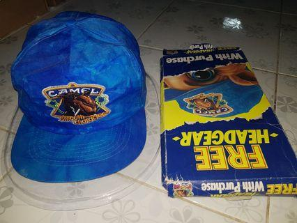 Camel deadstock headgear hats caps snapback