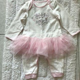 BN Patpat Little Angel One Piece Tutu Coverall 6-12mths avail!
