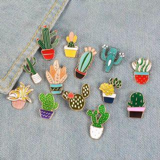 [BUY 3 FREE 1] cactus collection enamel pin