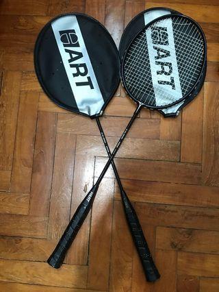 Hart badminton racquets