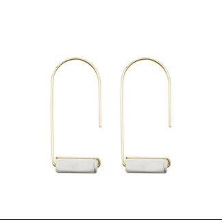 [CLEARANCE] Marble earrings