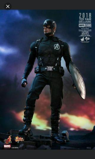 Hot toys Captain America art concept misb