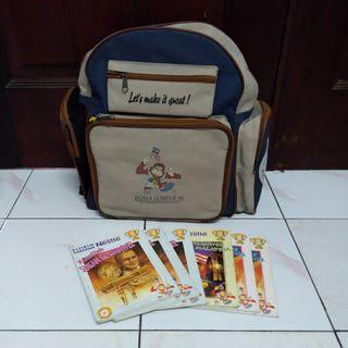 15th Commonwealth Games bag + books