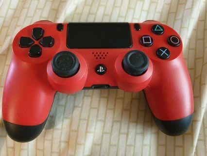PS4 Controller red original #Endgameyourexcess