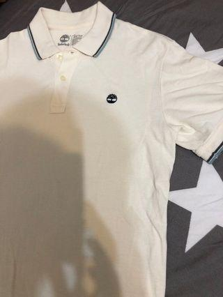 Timberland 米色 polo衫 短袖 XS號