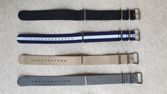 20mm NATO strap ZULU strap vintage strap